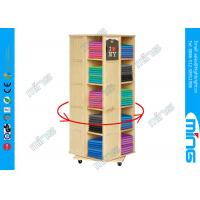 Wholesale Modern 4-sided Rotating Wooden Store Displays Rack for Clothing Display from china suppliers