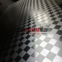 Wholesale Galvanzied / Chrome Surface Stainless Steel Press Plates With Leather Pattern from china suppliers