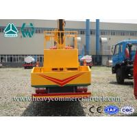 Wholesale Manual High Altitude Aerial Platform Truck , Articulated Boom Lift from china suppliers