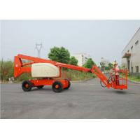 Wholesale Telescopic / Articulating Type Mobile Aerial Platform , Outdoor Aerial Working Man Lift for Rent from china suppliers