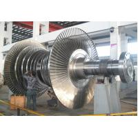 Wholesale 25Cr2Ni4MoV Turbo-Rotor Stream Turbine Rotor Forging 50T For GasTurbine Machine from china suppliers