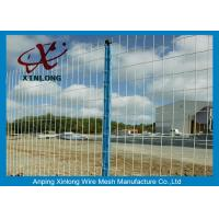Wholesale Green Pvc Coated Wire Mesh Fencing For Garden OEM Acceptable XLF-07 from china suppliers