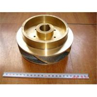 Wholesale C83600 , C92700 copper alloy water pump impeller CNC machining pump parts from china suppliers