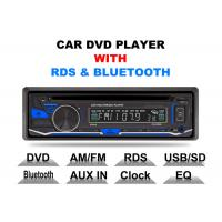 Wholesale Bluetooth Car Stereo Dvd Player Single Din Fixed Panel Front Aux Input from china suppliers