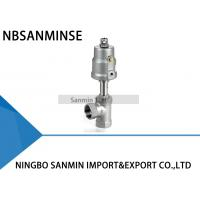 Buy cheap JDF1400 / JDF1500 Pneumatic Angle Seat Valve , SS 304 Pneumatic Drain Valve from wholesalers