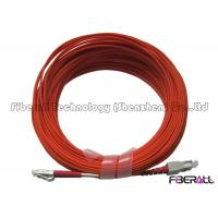 Wholesale Orange Color LC/UPC To SC/UPC Duplex Fiber Optic Jumper OM1 Or OM2 Patch Cord from china suppliers