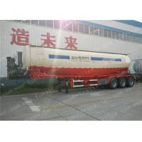 Wholesale 40T Cement Powder Trailer / Cement Tanker Trailer With ADR / SGS Certificate from china suppliers
