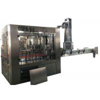Buy cheap Automatic Bottle Filling Capping And Labeling Machine , Oil Glass Bottle Filling Machine from wholesalers