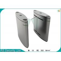 Wholesale Automatic Turnstile Security Systems , Retractable Flap Turnstile Door from china suppliers