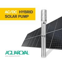 Wholesale HYBRID SOLAR PUMP 5SP10/3 | MAX FLOW 27.3M3 | MAX HEAD 39M | AUTO AC/DC from china suppliers
