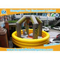 Wholesale Inflatable wrecking ball bouncy castle rocking  ball bounce inflatables from china suppliers