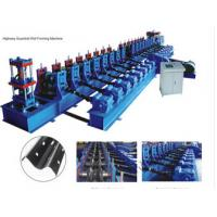 Wholesale 7 Rollers Leveling Expressway Guardrail Roll Forming Machine For Crash Barrier from china suppliers