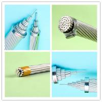 Wholesale 4 0 Awg Wire Aluminum Electrical Conductor , 556.5 MCM Bare Overhead Conductors from china suppliers