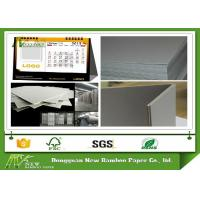 Wholesale 787 * 1092mm 889 * 1194mm Grey Chip Board Uncoated For Packaging / Calendar from china suppliers