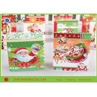 Wholesale Glitter Handmade Holiday Greeting Cards Size Customized Funny Christmas Cards For Business from china suppliers