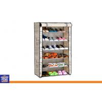 Wholesale Non-woven Fabric Wardrobe 6 Layer Shoe Storage Cabinets with Custom Color and Size from china suppliers