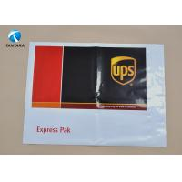 Quality Heavy Duty DHL EMS UPS Plastic Courier Bags with Custom Logo Printed for sale