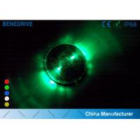 Wholesale 1 LED Each Side 2 Directions Solar Road Markers Well Fit Road Surface Energy Efficiency from china suppliers