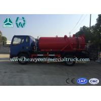 Wholesale Environmental Protection Fecal Suction Truck High Pressure Cleaner 4 x 2 from china suppliers