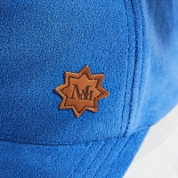 Wholesale Outdoor Sports Soft Autumn Winter Polar Fleece Baseball Cap Hat with debossed logo leather patch from china suppliers