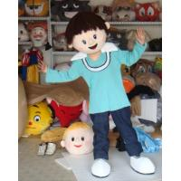 Wholesale adult plush customized cartoon girl mascot costumes for party from china suppliers