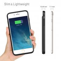 Wholesale iPhone 8/7/6/6S Battery Case 3000mAh Lingthing Earphone Supported Ultra Slim  Charging Case Charger Audio/Data Sync from china suppliers