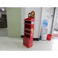 Wholesale Sturdy Cardboard Cosmetic Display Stand Free Standing CMYK Printing from china suppliers