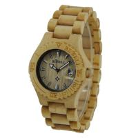 Wholesale Maple Wooden Wrist Watch For Women , 3 ATM Water Resistant from china suppliers