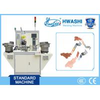 Wholesale Copper Sliver Terminal automatic spot welding machine for Electrical Parts from china suppliers