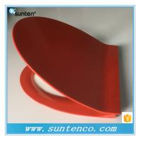 Wholesale European Standard Soft Close Elongated V Red Toilet Seat Covers from china suppliers