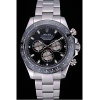 Wholesale Rolex Cosmograph Daytona Black Dial Stainless Steel Bracelet rl471 Crideit card payment from china suppliers