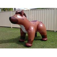 Wholesale Full Printing PVC Inflatable Products Brown 6ft Inflatable Dog For Kids from china suppliers