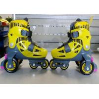 Wholesale Stable Unique Inline Quad Roller Skates For Kids' Outside Play Customized Size and Color from china suppliers