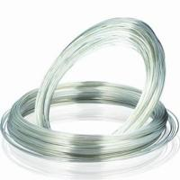 Wholesale Silver Plated Copper Wire for rivet and Jewelry Making with SGS, RoHS approved from china suppliers
