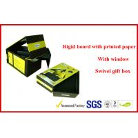 Wholesale Swivel Two Layers Rigid Board Gift Packaging Boxes , Customized Packaging Boxes from china suppliers