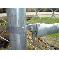 Wholesale Chain wire Fence for sale 65MM X 65MM X 4.00MM black powder  coated from china suppliers