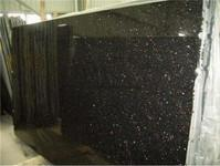 Wholesale Black Galaxy Granite,Polished Black Granite Tile/Slab/Counter Tops,Black Galaxy Skirting,Wall Tile from china suppliers