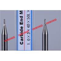 Wholesale Carbide / Aluminum End Mill with HRC50 Hardness 45 Degree Helix Angle from china suppliers