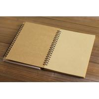 Wholesale A4 cheap yellow exercise book paper spiral notebook for school and office from china suppliers