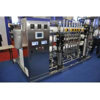 Wholesale Stainless Steel Double RO Water Purification Machines AC220V / AC380V from china suppliers