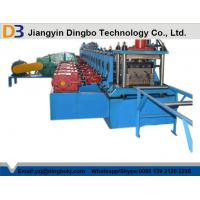 Wholesale Heavy Duty Gear Box Guardrail Roll Forming Machine With Hydraulic Post Cutting from china suppliers