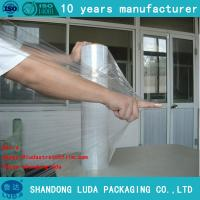 Wholesale 23 micron pallet stretch film lldpe industrial pallet wrap film from china suppliers