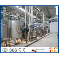 Wholesale 10000LPD UHT Milk Processing Line for Long Shelf Life Milk / Pure Milk ISO9001 from china suppliers