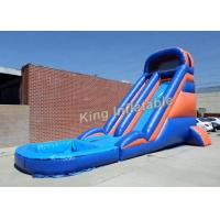 Wholesale 20 Feet Huge Inflatable Water Slide With Constant Blowing System from china suppliers