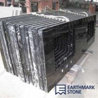 Wholesale Marquina Black Marble Bathroom Vanity Top from china suppliers
