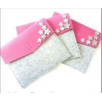 Wholesale china factory  price customized high quality felt waterproof document bag from china suppliers