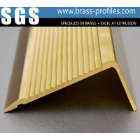 Wholesale Solid Brass Extruding Anti-slip Strip for Stairs / Non-slip Nosings from china suppliers