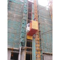Wholesale 1 Ton Single Cage Construction Building Material Hoist For Cargo, Passenger SS100/100 from china suppliers