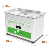 Buy cheap Small Benchtop Ultrasonic Cleaner 0.8L Ultrasonic Bath Cleaner For Lab  Digital Display Of Set And Actuall Timer from wholesalers
