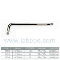 "Wholesale F5010-1/2"" Embossed L Handle Wrench L Socket Wrench bar L-TYPE HANDLE 1/2"" X 10""CRV L Type from china suppliers"